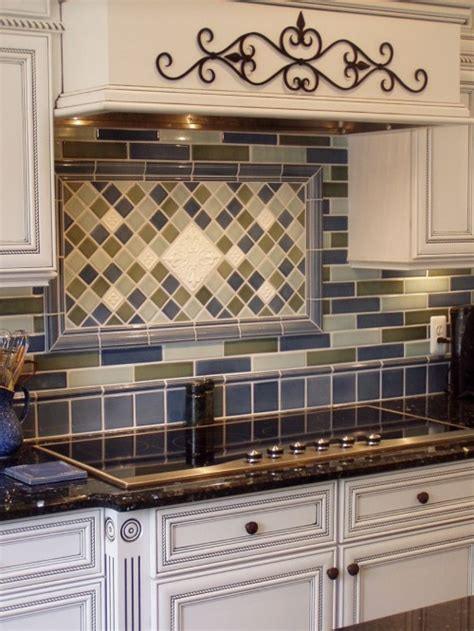 framed backsplash  stick   stove area