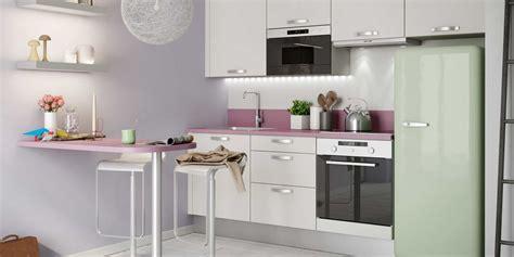 petites cuisines ouvertes cuisine decoration idees cuisines idee couleur cuisine