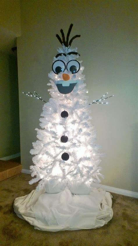 homemade olaf christmas tree christmas christmas tree