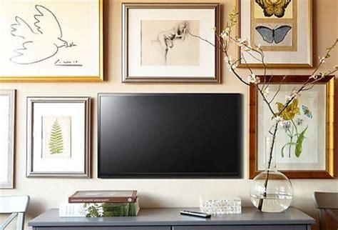 Tv Frames As The Living Room Decor Wwweshinterior