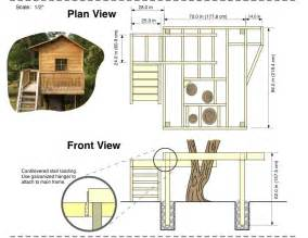 build house plans gallery for gt tree house plans designs free