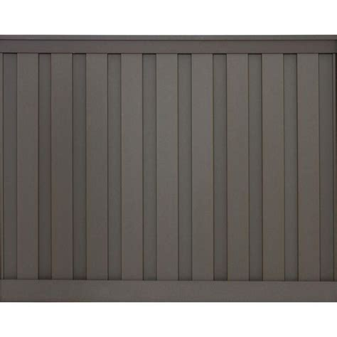 trex seclusions  ft   ft winchester grey wood plastic composite board  board privacy