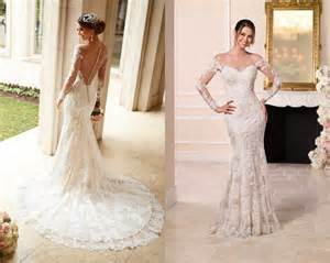robe mariage sirene robes de mariée stella york printemps 2016 mlle escarpins