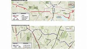 Previously proposed red- and purple-line routes - Orlando ...
