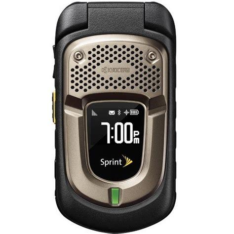 kyocera flip phone kyocera duraxt e4277 durable waterproof flip phone
