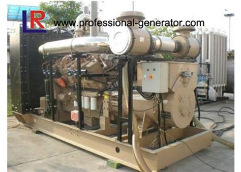 Details Of High Efficiency Natural Gas Generators 500kva