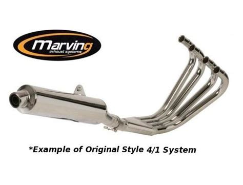 yamaha xj 900 s diversion 97 03 marving original style 4 1 complete system chrome parts at