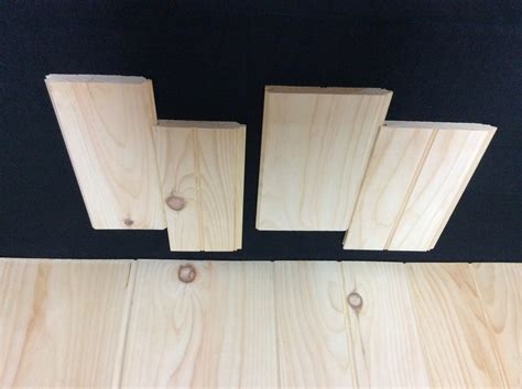 1 X 8 White Pine Tongue And Groove (ln Ft) Smoky