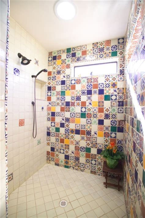 tiles for kitchen and bathroom bathroom bold mexican style mediterranean bathroom 8518