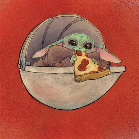 baby yoda disneyland food drawings apartment therapy