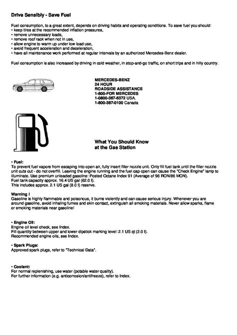 2000 mercedes-benz c-class Owners Manual | Just Give Me
