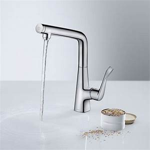 Hansgrohe Metris Select : hansgrohe metris select single lever kitchen mixer 320 chrome 14883000 reuter shop ~ Eleganceandgraceweddings.com Haus und Dekorationen
