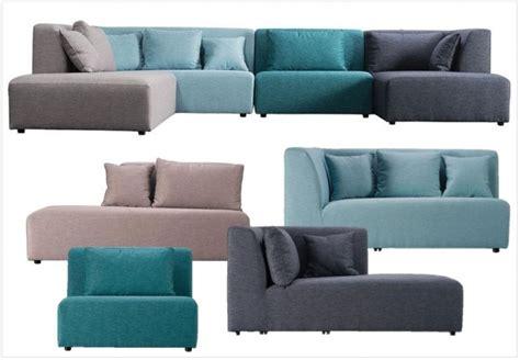canapé en tissu design canapé modulaire nos 6 modèles préférés