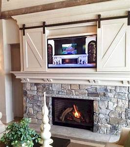 47, Best, Farmhouse, Fireplace, Decor, Ideas, And, Remodel