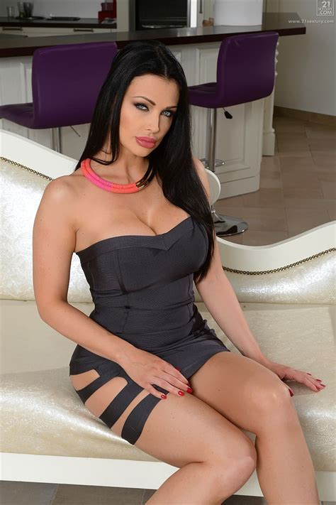 Aletta Ocean Gets Nailed On The Couch In A Black Dress Sextury Pictures