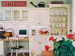 western kitchen decor pictures ideas tips from hgtv hgtv With kitchen colors with white cabinets with large letter stickers