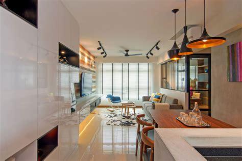 Cozy Apartment Singapore With Stylish Elements