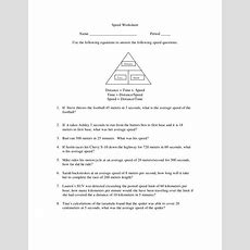 Chapter 2 Speed Worksheet