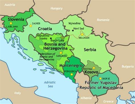 Former Yugoslavia Today
