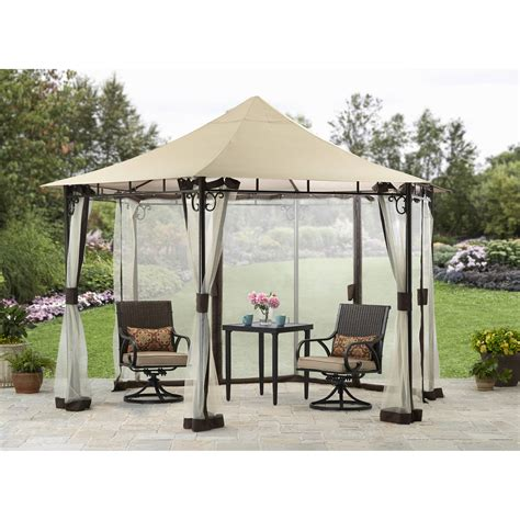 better homes and gardens ridge top gazebo 13 at garden