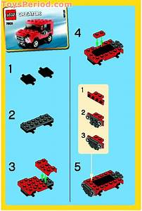 Lego 7803 Jeep Set Parts Inventory And Instructions