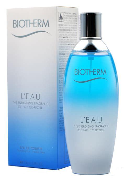 biotherm l eau by lait corporel 100 ml eau de toilette