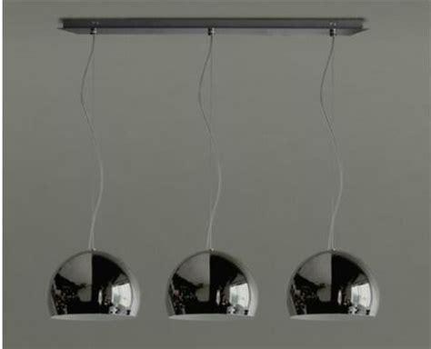 lamparas colgantes  luces cromo  cocina comedor tvf
