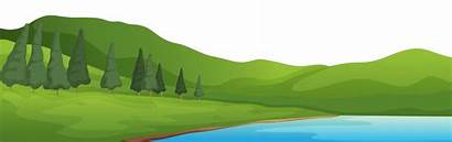 Clipart Mountain Mountains Lake Clip Clipground