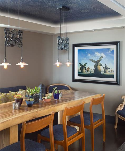 Asian Dining Room Lighting  Small House Interior Design