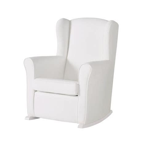 chaise à bascule allaitement fauteuil d 39 allaitement bascule en similicuir de micuna