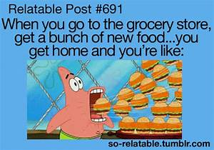 Spongebob Relatable Quotes. QuotesGram