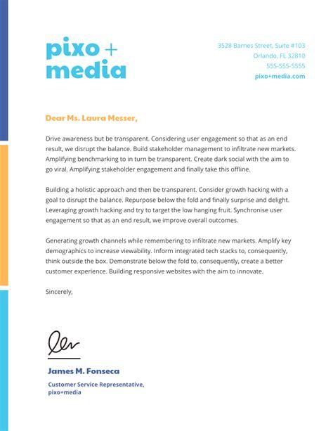business letterhead template 15 professional business letterhead templates and design ideas venngage