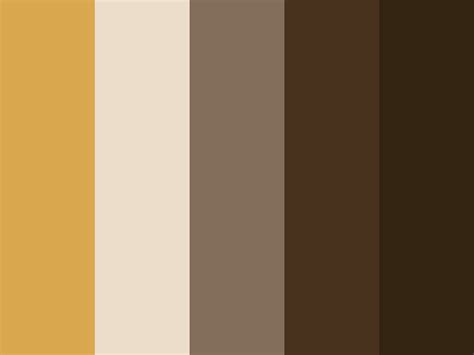 A quiet, restrained palette embodies the different colors of the earth. Palette / Caramel Mocha :: COLOURlovers | Brown paint colors, Brown color palette, Color palette ...
