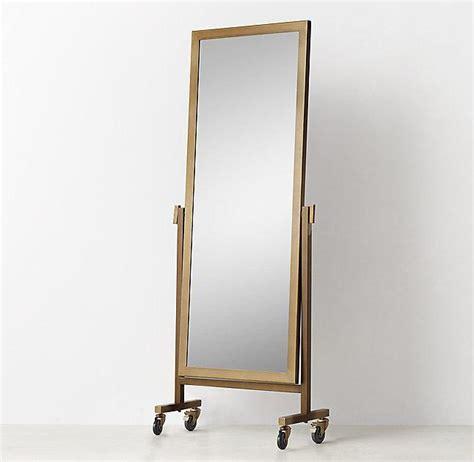 quinn floor mirror quinn brass floor mirror