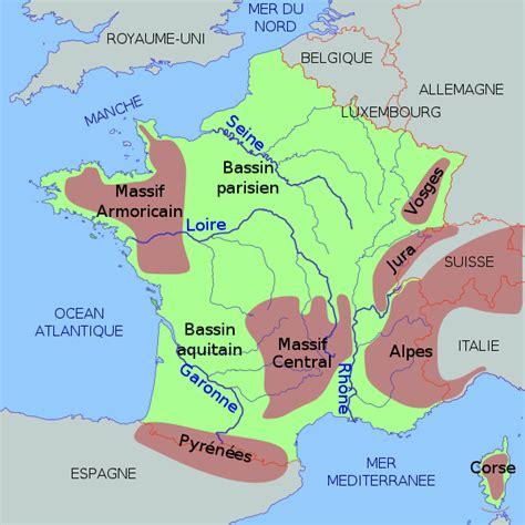Carte Des Montagnes De Ce1 by La G 233 Ographie De La Intellego Fr