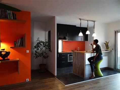 ouverture cuisine ouverture cuisine sur séjour à bordeaux une réalisation