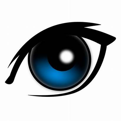 Eyes Cartoon Pretty Clipart Cliparts Eye Clip