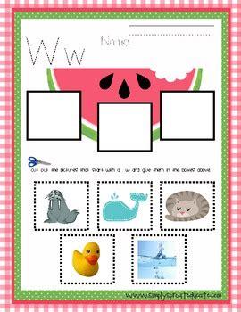 watermelon preschool activity printables   grauer tpt