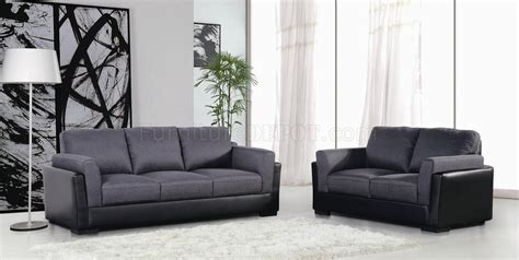 Willow Loveseat by Willow 433003 Sofa Loveseat In Grey Fabric By New Spec