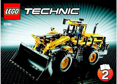 lego front loader instructions  technic