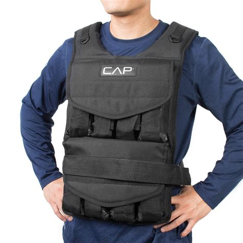 Amazon.com : Cap Barbell Adjustable Weighted Vest : Sports