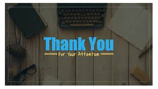 Thank You For Your Attention Presentation | freesongs4u