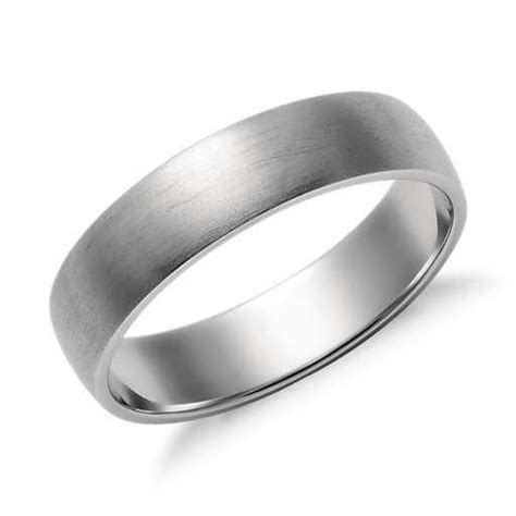 matte classic wedding ring in platinum 5mm wedding in 2019 classic wedding rings
