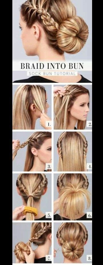super easy quick  cute hairstyle     hairstyles makeup nails pinterest