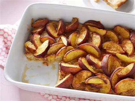 Peach French Toast Bake Recipe Ellie Krieger Food Network
