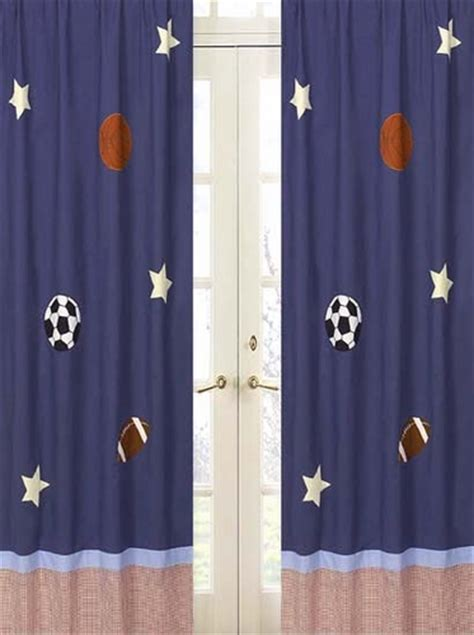 playball sports window treatment panels set of 2 only 26 99