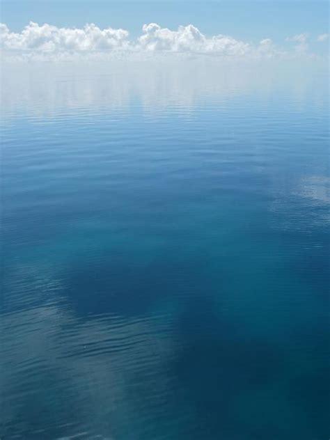 Free image of still peaceful ocean