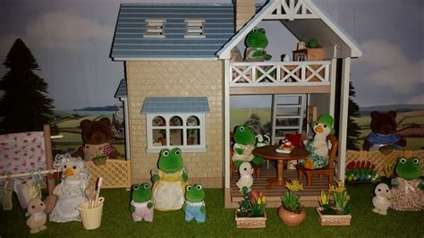 sylvanian families bluebell cottage riverside lodge sylvanian families