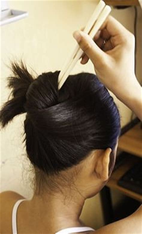 hair stick styles 1000 images about chopsticks hairstyles on 1693