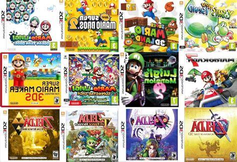 Listado completo con todos los juegos de nintendo 3ds que existen o que van a ser lanzados al mercado. Juegos Nintendo 3Ds de segunda mano | Solo quedan 2 al -75%